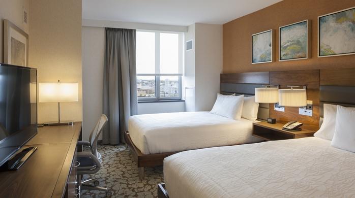 New York 6 Bis 8 Tage Im Hilton Garden Inn Mit Fl Gen Und Fr Hst Ck Ab 879