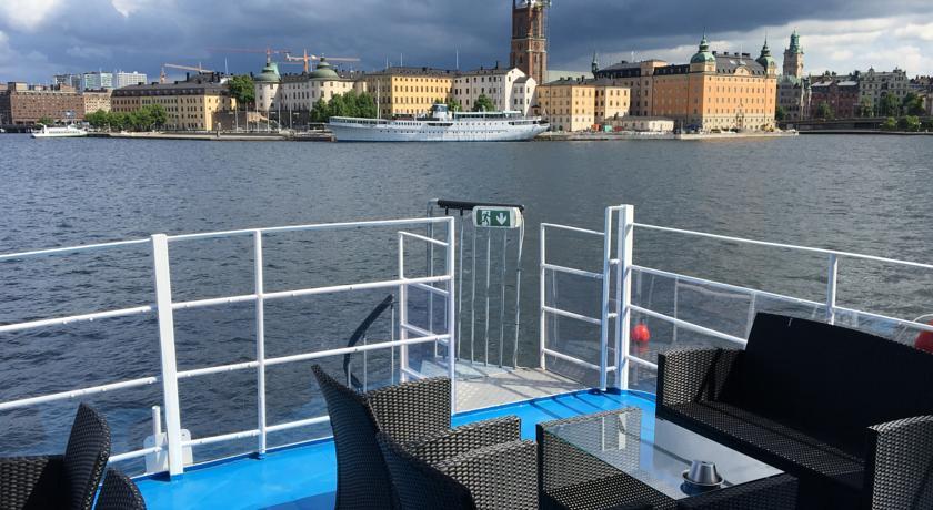 stockholm 3 bis 5 tage auf einem hotelboot mit fl gen und fr hst ck ab 179. Black Bedroom Furniture Sets. Home Design Ideas