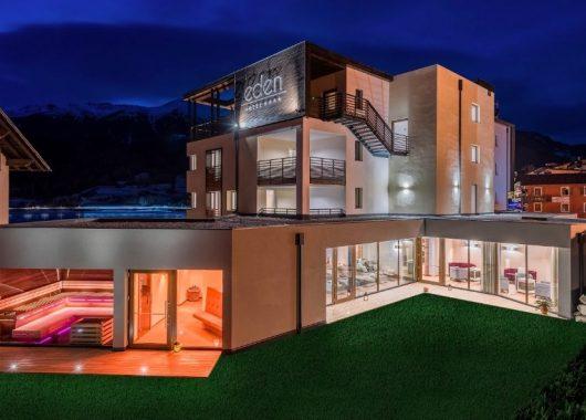 3 – 4 Tage im neuen 4* Hotel Eden am Reschensee inkl. Halbpension & Garden-Spa ab 159€
