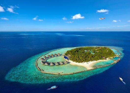 2 Wochen Malediven im 3,5* Resort mit All In, Flug, Rail&Fly und Transfer 1826€