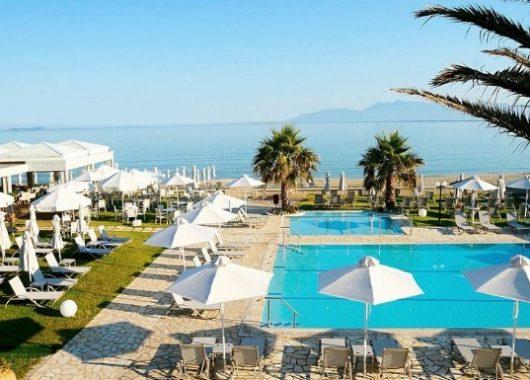 Eine Woche Korfu im 3,5* Award-Hotel inkl. HP, Flug, Rail&Fly und Transfer ab 398€