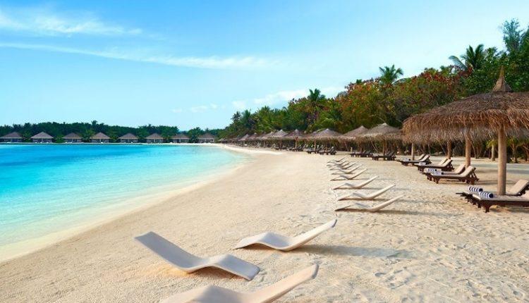 sommer auf den malediven 13 tage im 4 resort mit all in flug rail fly u transfer ab 1586. Black Bedroom Furniture Sets. Home Design Ideas