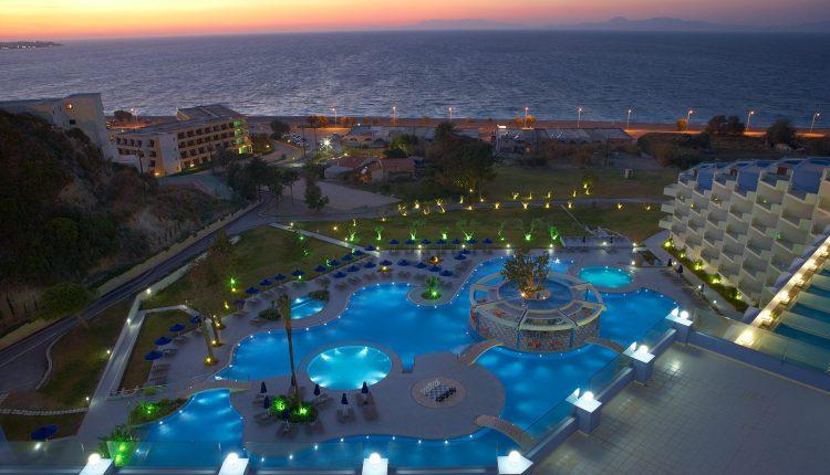 Luxusurlaub zum Schnäppchenpreis: 7 Tage Rhodos im 5* Hotel inkl. Flug, Transfer, Rail&Fly und Frühstück ab 388€