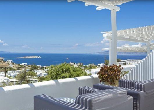Luxus auf Mykonos: 1 Woche im 4* Hotel inkl. Frühstück, Flug & Transfer ab 647€