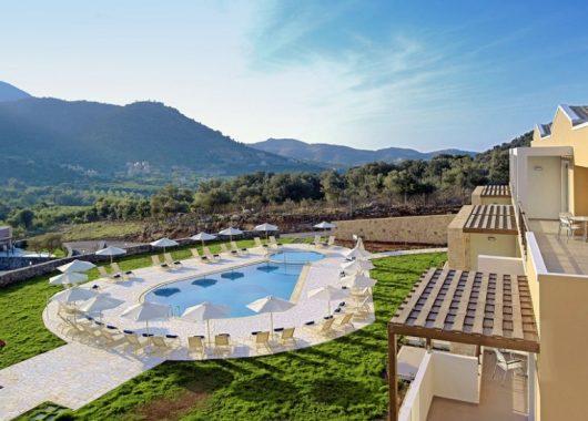 Noch im August: 1 Woche Kreta im 5* Hotel inkl. HP, Flug, Rail&Fly und Transfer ab 497€