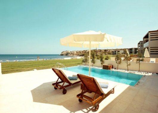 Eine Woche Rhodos im 5* Hotel inkl. Frühstück, Flug, Rail&Fly und Transfer ab 528€