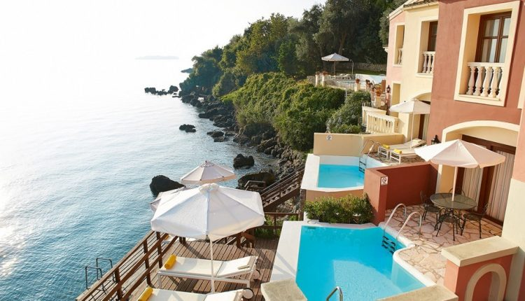 1 Woche Korfu im zauberhaften 5* Hotel inkl. Frühstück, Flug, Rail&Fly und Transfer ab 491€