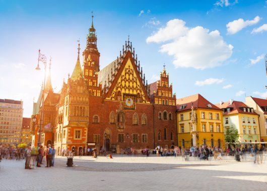 5 Tage Kurztrip nach Breslau: gutes 3* Hotel, Flug und Frühstück ab 110€