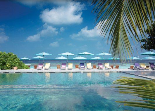 Malediven-Luxus: 9 Tage in einer 4* Beach Villa mit All In, Flug, Rail&Fly und Transfer ab 1939€
