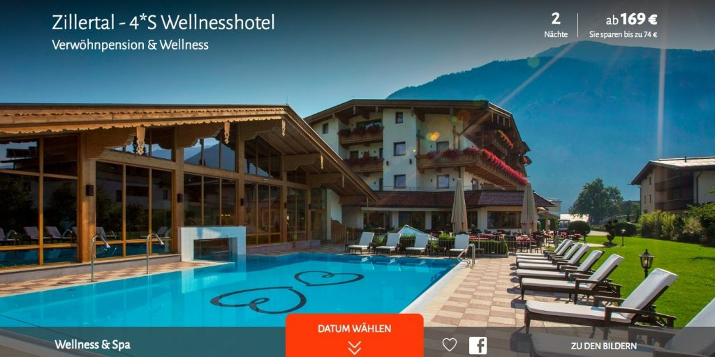 lastminute wellness im zillertal 3 8 tage im 4 s hotel inkl vollpension und spa ab 169. Black Bedroom Furniture Sets. Home Design Ideas