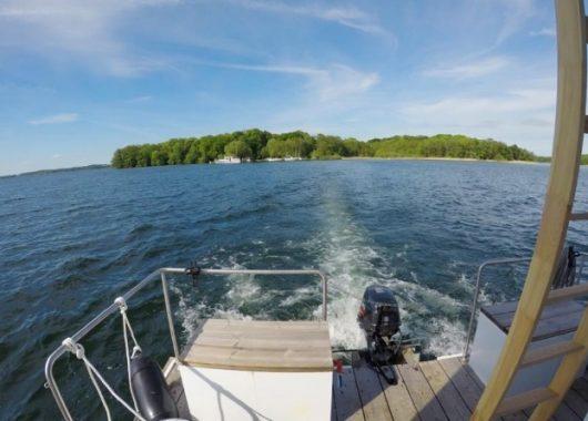 4 Tage im Cosy Hausboot in Schwerin für 449€ zu viert