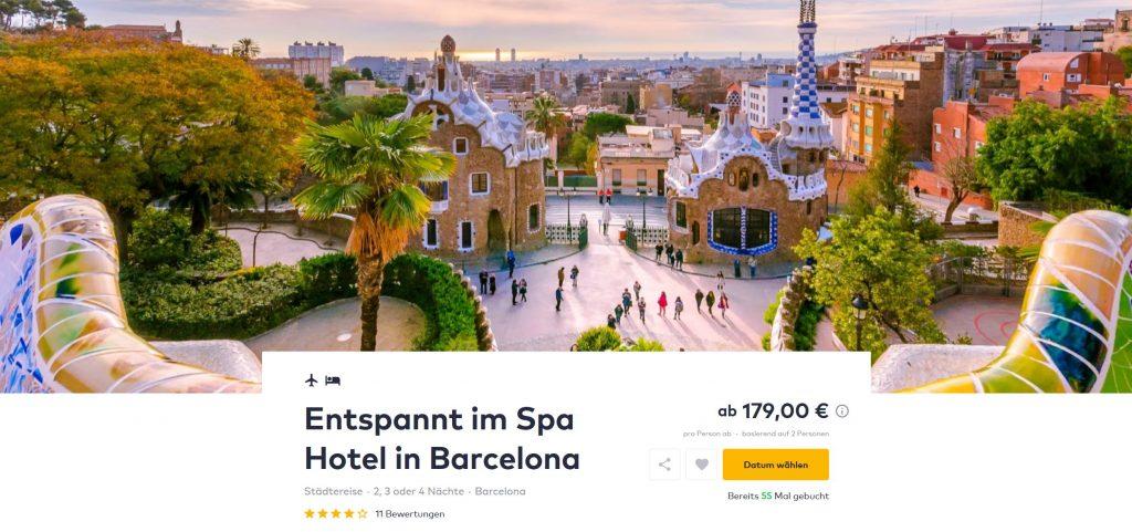 Stadtereise Barcelona Hotel Und Flug