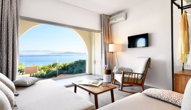 Herbst: 1 Woche Chalkidiki im 4* Hotel mit All In, Flug, Rail&Fly und Transfer ab 452€