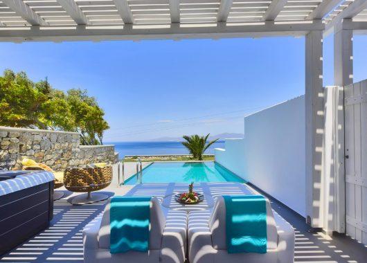 5 Tage Mykonos im 5* Luxus Relais & Chateaux Hotel inkl. Frühstück, Flug, Rail&Fly u. Transfer ab 593€