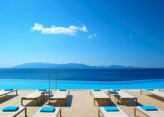 Frühbucher: Eine Woche Kos im 5* Resort inkl. HP, Flug und Transfer ab 496€