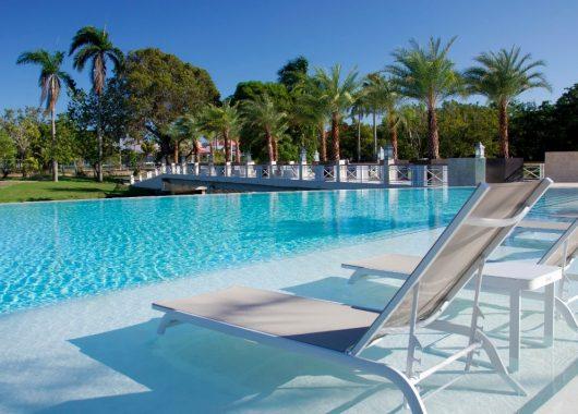 2 Wochen DomRep im neuen 4,5* Hotel mit All In, Flug, Rail&Fly u. Transfer ab 1153€