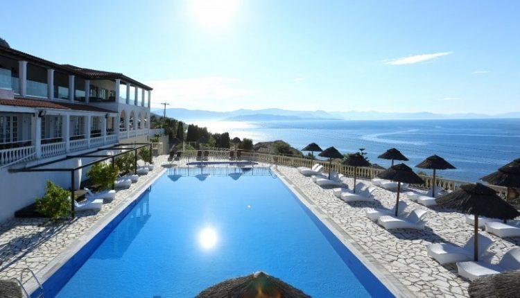 Eine Woche Korfu im 4* Hotel inkl. Meerblick, HP, Flug, Rail&Fly u. Transfer ab 429€