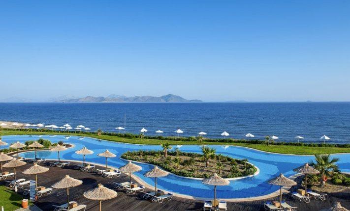 Luxus auf Kos: Eine Woche im 5* Hotel inkl. HP, Flug und Transfer ab 586€