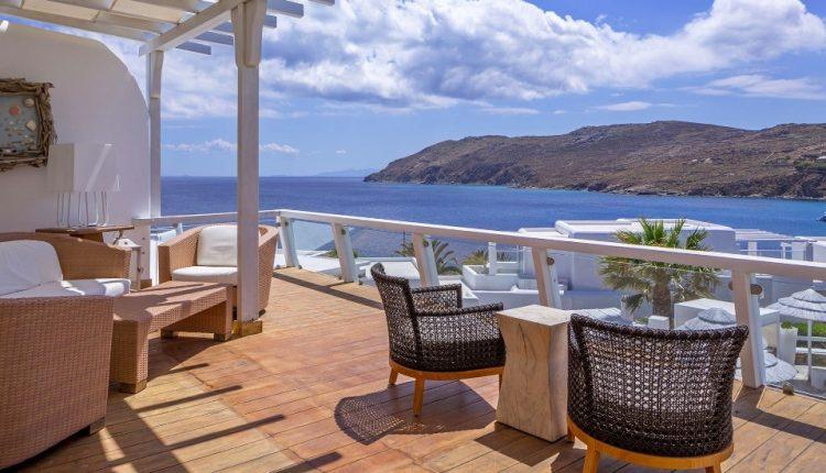 Eine Woche Mykonos im Mai: 4,5* Hotel inkl. Meerblick, Frühstück, Flug, Rail&Fly u. Transfer ab 519€