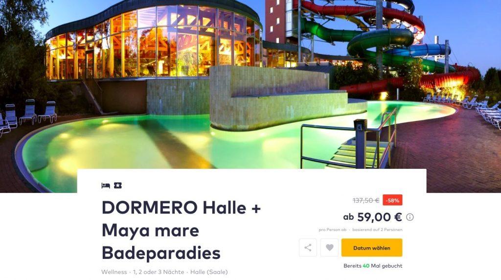 2 4 tage im 4 dormero hotel halle inkl fr hst ck eintritt ins maya mare badeparadies. Black Bedroom Furniture Sets. Home Design Ideas