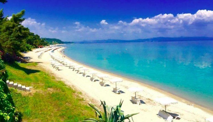 Im Mai nach Griechenland: 7 Tage in Chalkidiki im 4-Sterne Hotel inkl. Flug und Halbpension ab 312€