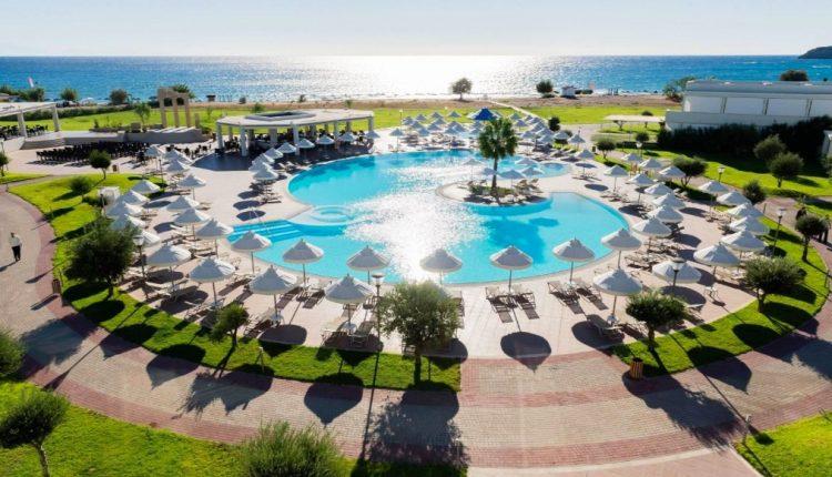 Eine Woche Rhodos im 5* Hotel inkl. HP, Flug, Rail&Fly und Transfer ab 482€