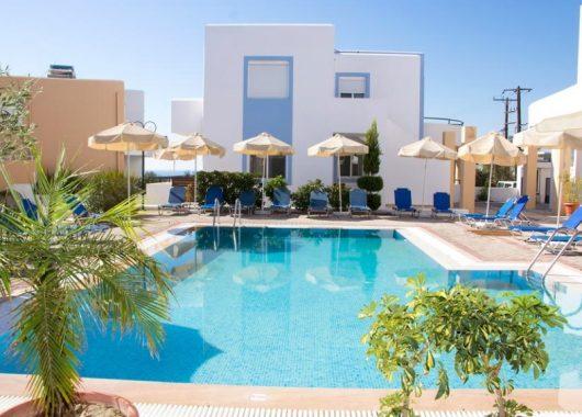 Eine Woche Rhodos im 3* Apartment inkl. Flug & Transfer ab 315€