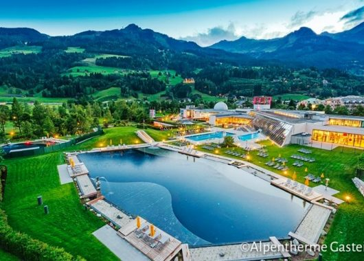 3 Tage Wellness im Salzburger Land: 4* Hotel inkl. HP, Alpentherme & Gastein Card ab 99€