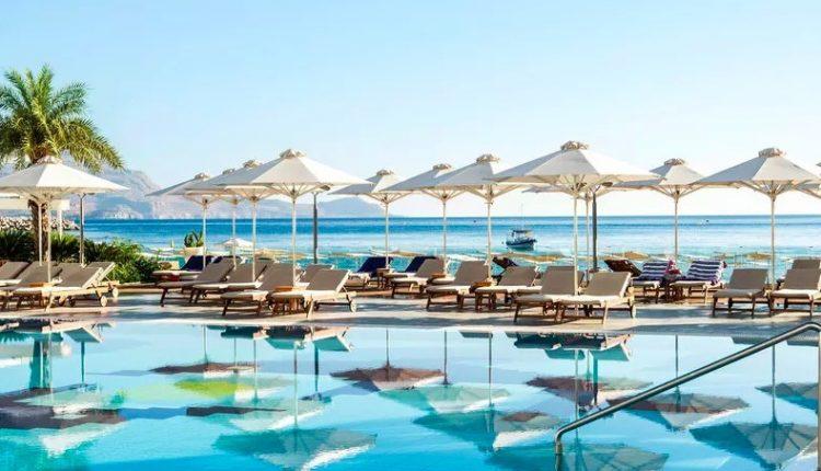 1 Woche Lindos, Rhodos im 4,5* Resort inkl. HP, Flug, Rail&Fly und Transfer ab 377€