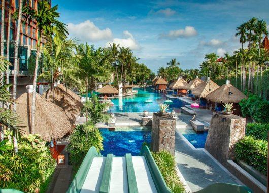 Eine Woche Bali im 4* Hard Rock Hotel inkl. Frühstück, Flug, Rail&Fly u. Transfer ab 969€