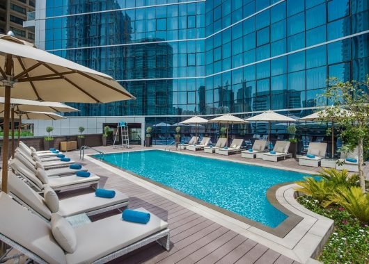 Eine Woche Dubai im 4* Hotel inkl. Frühstück, Flug, Rail&Fly u. Transfer ab 494€