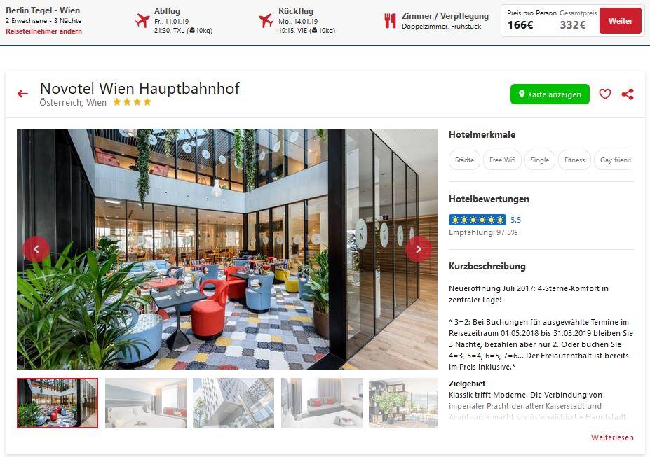 Wien 4 Tage Im Zentralen 4hotel Inkl Flug Und Frühstück Ab 166
