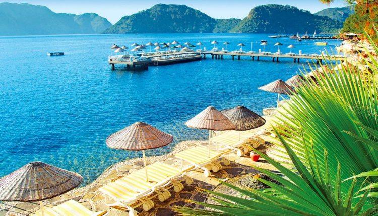 Preissturz: Eine Woche im 5* Hotel an der Türkischen Ägäis mit All In, Flug, Rail&Fly u. Transfer ab 197€