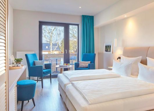 Ostsee: Übernachtung im 3,5* Hotel Strandkind inkl. Frühstück, Aktivprogramm & Spa ab 105€