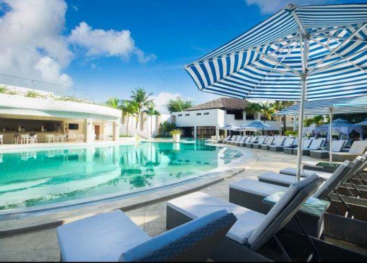 2 Wochen DomRep im 4,5* Hotel mit All In, Flug, Rail&Fly und Transfer ab 1106€
