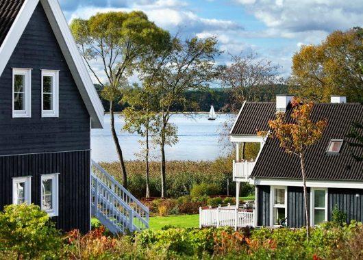 Brandenburg: 4 Nächte im Ferienhaus am See mit Whirlpool, Sauna und Kamin für 299€ für 4 Personen