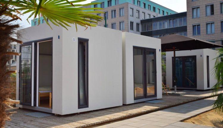 Silvester: Übernachtung im Cube Lodges Berlin Mitte für 45€ p.P.