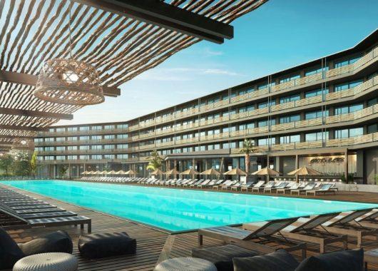 Sonnenstrand: 1 Woche im nagelneuen 4* Hotel mit All In, Flug & Transfer ab 491€
