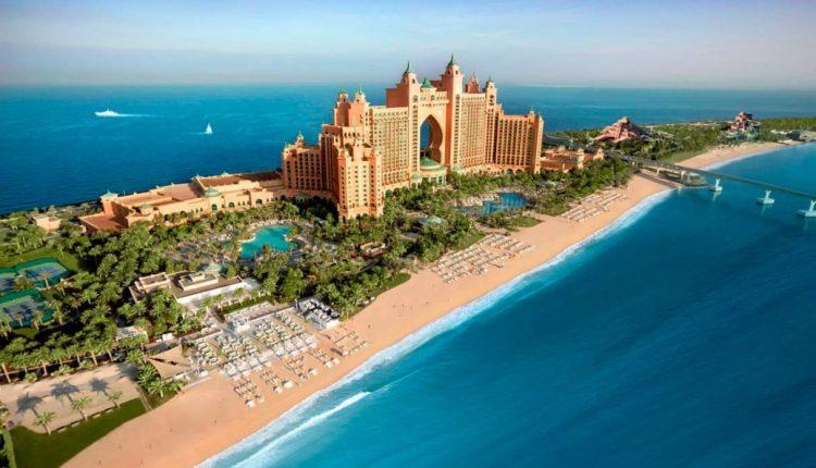 Kombireise: Eine Woche Dubai im u.a. Atlantis The Palm Dubai inkl. HP, Flug, Rail&Fly und Transfer ab 799€
