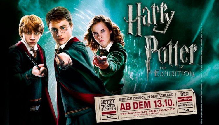 Harry Potter™ The Exhibition Babelsberg: Eintritt und Übernachtung im 4-5* Hotel mit Frühstück ab 60€