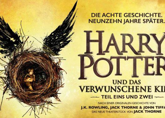 Die Harry Potter Fortsetzung im Theater: Tickets & Übernachtung im top 4* Hotel in Hamburg ab 100€
