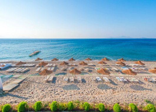 Eine Woche Kos im 4* Hotel mit All Inclusive, Flug, Rail&Fly und Transfer ab 413€