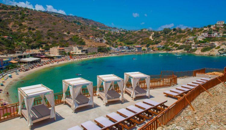 1 Woche Kreta im neuen 4* Hotel inkl. Meerblick, HP, Flug, Rail&Fly und Transfer ab 391€
