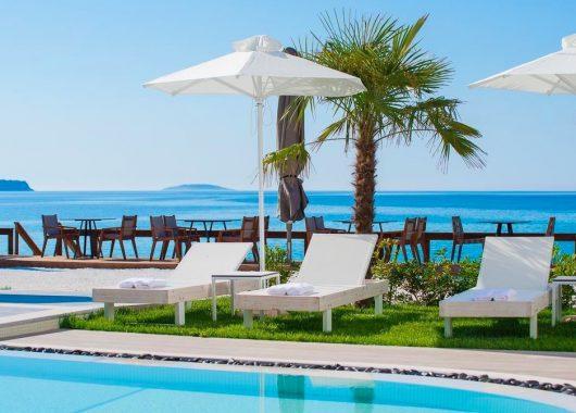 1 Woche Thassos im 4* Hotel inkl. Frühstück, Flug, Rail&Fly und Transfer ab 369€