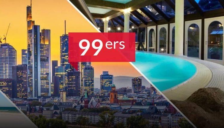 NUR HEUTE – Multi Hotel Gutschein: 3 Tage in einem von über 100 Hotels inkl. Frühstück für 44,99€ pro Person