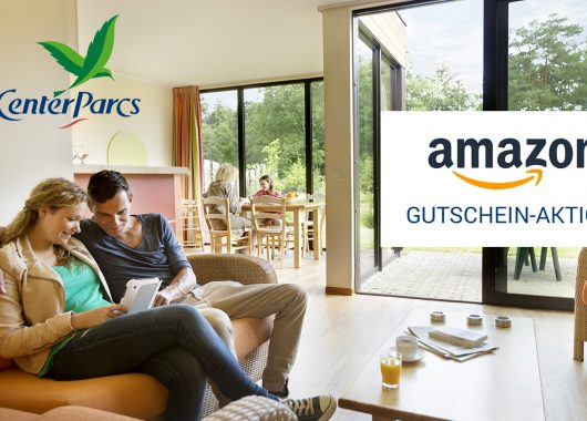 Center Parcs Gutschein-Aktion: Ferienhaus schon ab 229€ für 4 Pers. & 4 Nächte + 25€ Amazon-Gutschein