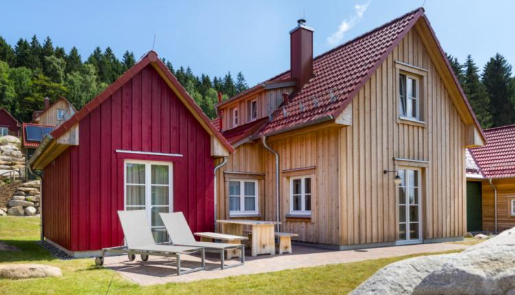 Urlaub am Brocken: 3 Tage in eigener Lodge mit Sauna, Frühstück & Dinner ab 173€ p. P.