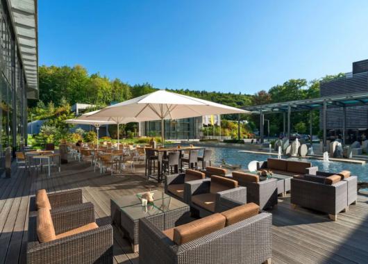 Hessen: 3 Tage im Lufthansa Hotel Seeheim inkl. Frühstück, Abendbuffet & Spa ab 99€ p. P.
