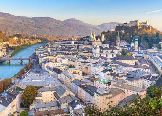 Städtetrip nach Salzburg: 3 bis 6 Tage im top 4*Hotel mit Frühstück ab 59,99€ pro Person